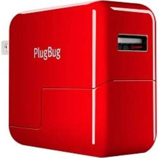 iPad/iPhone/iPod/スマホ対応 USB電源アダプタ「PlugBug」 TWS-OT-000007
