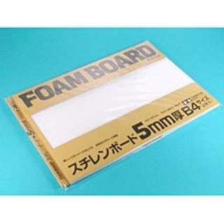 スチレンボード 5mm厚 B4サイズ(2枚入)