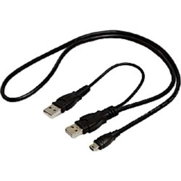 電源補助機能付きUSB2.0ケーブル GM-UH004