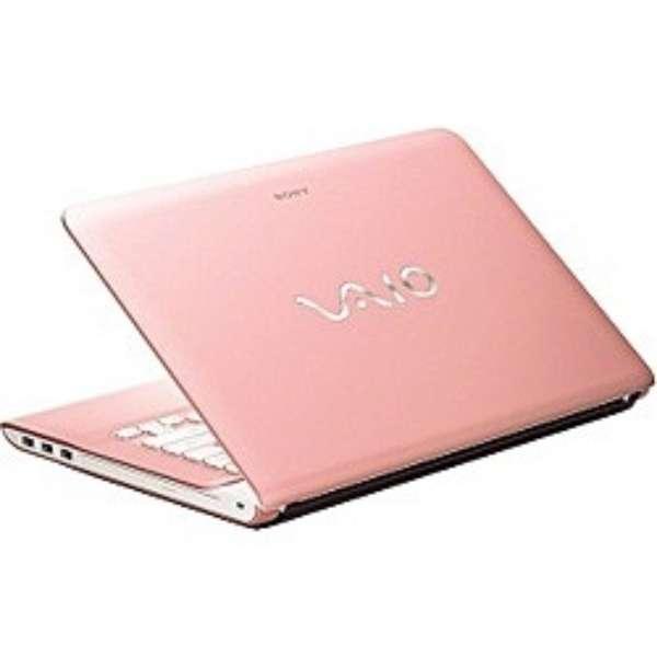 SVE14115FGP/E1 ノートパソコン VAIO Eシリーズ ピンク [14.0型 /intel Core i5 /HDD:640GB /メモリ:4GB /2012年6月モデル]