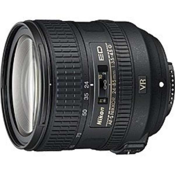 カメラレンズ AF-S NIKKOR 24-85mm f/3.5-4.5G ED VR NIKKOR(ニッコール) ブラック [ニコンF /ズームレンズ]