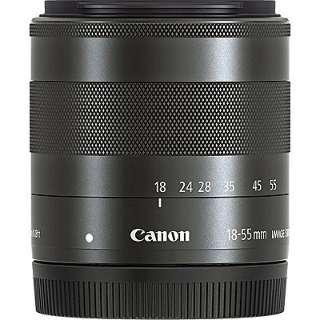 カメラレンズ EF-M18-55mm F3.5-5.6 IS STM ブラック [キヤノンEF-M /ズームレンズ]