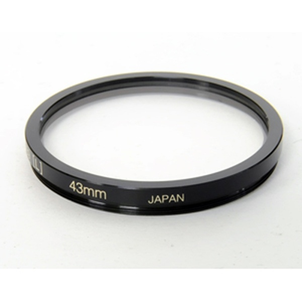 Black and Silver Taste 43mm Planet U UV Filter
