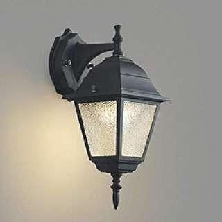 BU11708B 玄関照明 黒色塗装 [電球色 /LED /防雨型 /要電気工事]