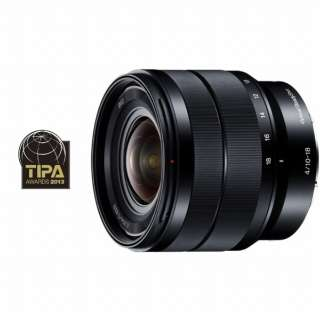 カメラレンズ E 10-18mm F4 OSS  APS-C用 ブラック SEL1018 [ソニーE /ズームレンズ]