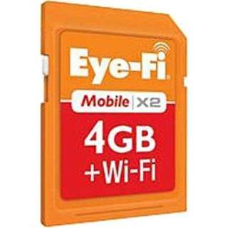 SDHCカード Mobile X2 EFJ-MD-4G [4GB /Class6]
