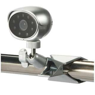 【屋内用】アナログ対応簡易取付型カラー監視カメラ【赤外線投光器内蔵】 SEC-620