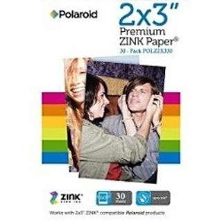 ZINK 2×3 PREMIUMフォトペーパー(30枚入り)