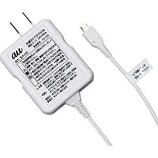 【au純正】 共通ACアダプタ04 0401PWA [micro USB]