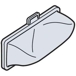 全自動洗濯機用下部糸くずフィルター(2個入り) NET-KD8GX