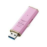 USB3.0メモリ 「Shocolf(ショコルフ)」(16GB・ストロベリーピンク) MF-XWU316GPNL
