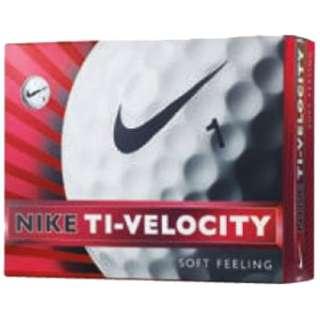ゴルフボール TI-VELOCITY 3《1ダース(12球)/ホワイト》 GL0612-101 【オウンネーム非対応】