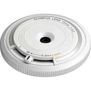 カメラレンズ ボディーキャップレンズ ホワイト BCL-1580 [マイクロフォーサーズ /単焦点レンズ]
