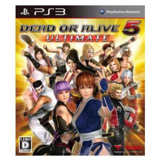 DEAD OR ALIVE 5 Ultimate 通常版【PS3ゲームソフト】