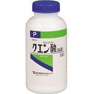 健栄製薬 クエン酸 結晶 P 500g 健栄製薬