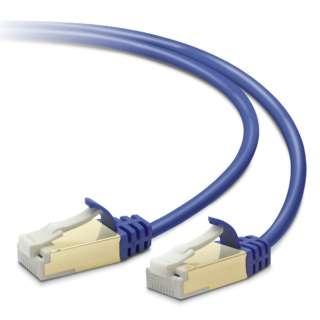 LD-TWSST/BM30 LANケーブル ブルーメタリック [3m /カテゴリー7 /スリム]