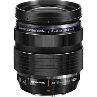 カメラレンズ ED 12-40mm F2.8 PRO M.ZUIKO DIGITAL(ズイコーデジタル) ブラック [マイクロフォーサーズ /ズームレンズ]