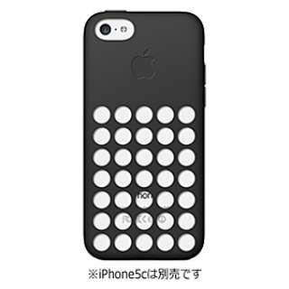 【純正】 iPhone 5c用 シリコンケース (ブラック)