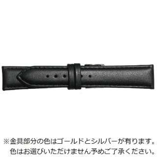 BEAR時計バンド 革(22-18mm・カーフ・黒) 1295122