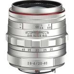 カメラレンズ HD PENTAX-DA 20-40mmF2.8-4ED Limited DC WR APS-C用 シルバー [ペンタックスK /ズームレンズ]