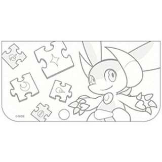 パズドラZ・キラキラ・ソフトジャケット シロップ・ラメクリア【3DS LL】
