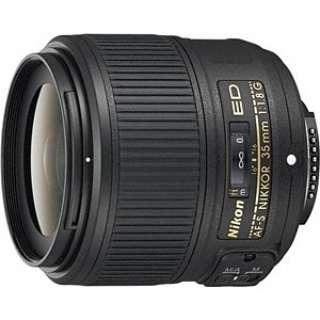 カメラレンズ AF-S NIKKOR 35mm f/1.8G ED NIKKOR(ニッコール) ブラック [ニコンF /単焦点レンズ]