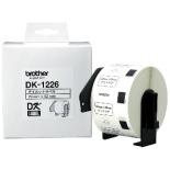 ラベルライター用 食品表示用/検体ラベル 52×29mm DK LABEL 白 DK-1226 [黒文字]