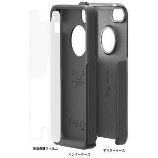 iPhone 5c用 Commuter (ブラック/ブラック BLACK) OTB-PH-000101
