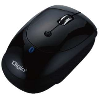 MUS-BKT83NBK マウス Digio2 ブラック  [光学式 /3ボタン /Bluetooth /無線(ワイヤレス)]