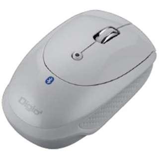 MUS-BKT83NW マウス Digio2 ホワイト  [光学式 /3ボタン /Bluetooth /無線(ワイヤレス)]