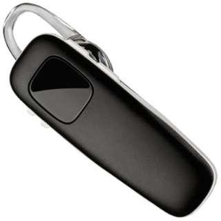 スマートフォン対応[Bluetooth3.0] 片耳ヘッドセット USB充電ケーブル付 (ブラック/ホワイト) M70 M70-BW