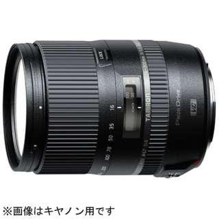 カメラレンズ 16-300mm F/3.5-6.3 Di II VC PZD MACRO  APS-C用 ブラック B016 [ニコンF /ズームレンズ]