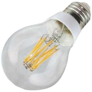 JA26F6RL LED電球 DECO LIGHT LED Filament bulb(デコライトLED・フィラメントバルブ) クリア [E26 /電球色 /1個 /一般電球形 /全方向タイプ]