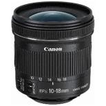 カメラレンズ EF-S10-18mm F4.5-5.6 IS STM APS-C用 ブラック [キヤノンEF /ズームレンズ]