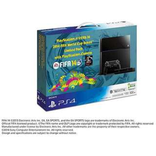 PlayStation 4 (プレイステーション4) ×FIFA 14 2014 FIFA World Cup Brazil Limited Pack with PlayStation Camera [ゲーム機本体]