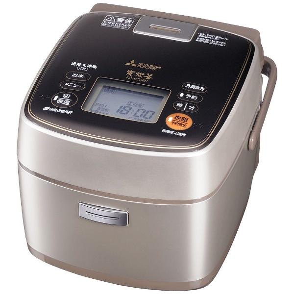 三菱電機 IHジャー炊飯 NJ-ST06R-N 炊飯器