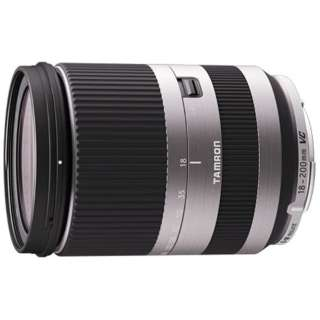 カメラレンズ 18-200mm F/3.5-6.3 Di III VC シルバー B011 [キヤノンEF-M /ズームレンズ]