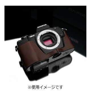 本革カメラケース 【オリンパス OM-D E-M10用】(ブラウン) XS-CHEM10BR