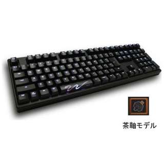 DK9008S3-BJNALAAW1 キーボード LED Backlit Mechanical Keyboard CHERRY MX 茶軸 Shine3 [USB /コード ]