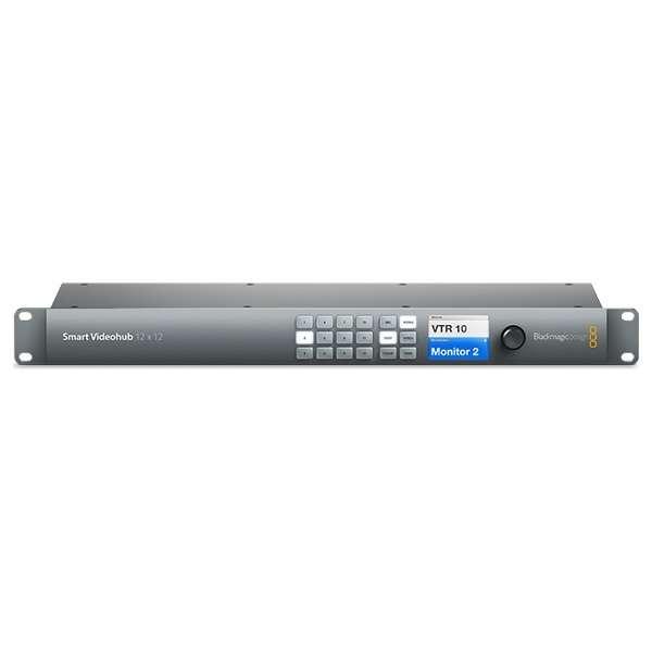 マルチフォーマットルーター Smart Videohub 12 x 12 VHUBSMART6G1212