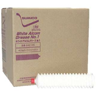 グリース(食品機械用) ホワイトアルコムグリースNo.1 400g WAG041