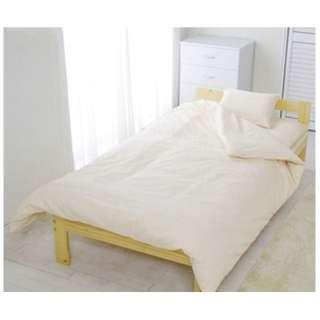 【敷ふとんカバー】アイリスオーヤマ CMS-S シングルサイズ(綿100%/105×215cm/ベージュ)