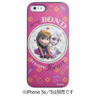 iPhone 5s/5用 カスタムカバー 「ディズニー アナと雪の女王」(アナ&エルサ)