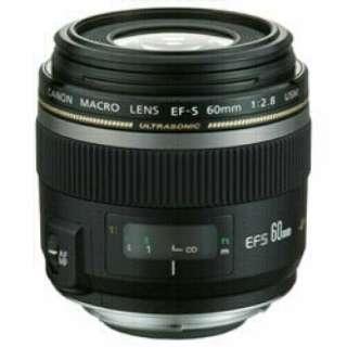 カメラレンズ EF-S60mm F2.8 マクロ USM APS-C用 ブラック [キヤノンEF /単焦点レンズ]