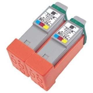 ECI-C24C2P 互換プリンターインク エコリカ カラー