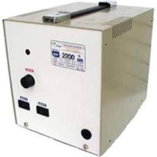 変圧器 (アップダウントランス) 「トランスフォーマ SKシリーズ」(220V⇔100V・容量2200W) SK-2200E