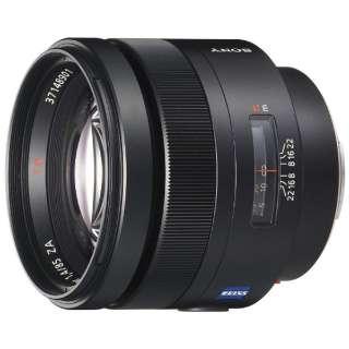 カメラレンズ T* 85mm F1.4 ZA Planar ブラック SAL85F14Z [ソニーA(α) /単焦点レンズ]