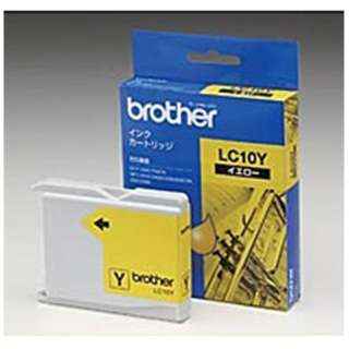 LC10Y 純正プリンターインク brother イエロー