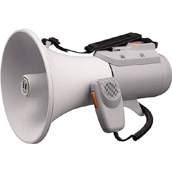 ショルダーメガホン (15W・ホイッスル音付) ER-2115W