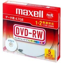 DRW47PWB.S1P5S A (DVD-RW 2倍速 5枚組)